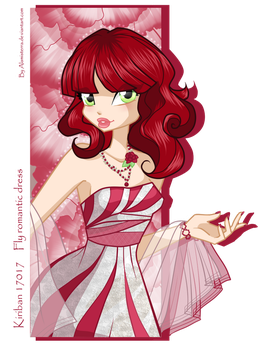 Fly in romantic dress by alamisterra