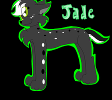.:Jade art trade:. by Rainbow-cat97
