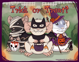 Trick or Treat? by Le-Rapps