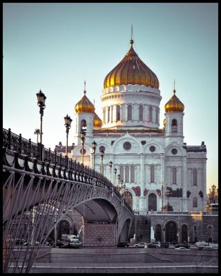 Cathedral of Christ the Saviour by midwatch