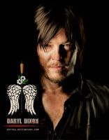 Norman Reedus As Daryl Dixon by Kot1ka