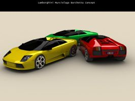Murcielago Barchetta Concept by nalhcal