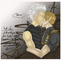 Leon x Vergil by Silent-Neutral