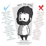 Meet The Artist by kungfumonkey