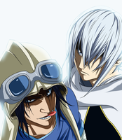 Air Gear 213 Sora and Kilik Rabid by Spitfire95