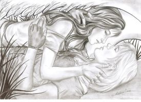 Angel in love with a suicide princess by Angela-Chiappini