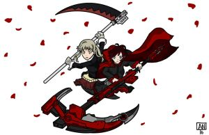 Ruby Rose vs. Maka Albarn by amazingprophet
