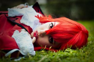 Red beauty. Madame Red by Isawa-Hiromi