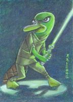 Perry the Platypus Jedi Master by LEXLOTHOR