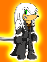 Sephiroth the Echidna by StryderSDC