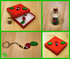 Ladybird Gift Set by Cateaclysmic