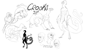 {Crooks} v4.0 Sketches by WellHidden