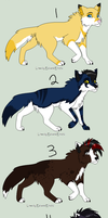 Wolf Point Adopts -CLOSED- by PoodleFradoodle