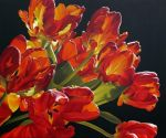 Red Tulips by Lillemut