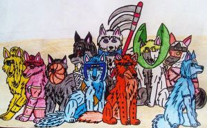 DO NOT FAVE Akatsuki as Wolfs by AkatsukiFansClub