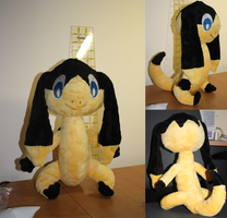 Helioptile Plush 2 by Diffeomorphism