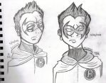 Damian Yesterday and Today by TheArtistGirlWonder