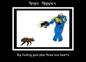 WH40K Space Marine 3 by 6uitar6reat6od