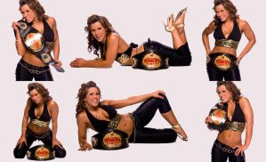 Mickie James, Alexis Laree by Belthazor1