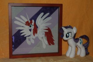 Fausticorn Shadowbox by WhiteDove-Creations