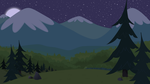 Alpine Night by BonesWolbach