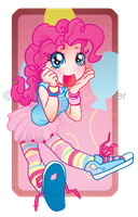 My Little Pony : Chibi Human PinkyPie by ExiledChaos