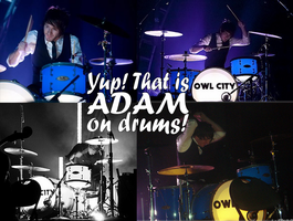 Yup that is Adam on drums by realtimelord