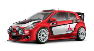 Mitsubishi Mirage WRC RalliArt by idhuy