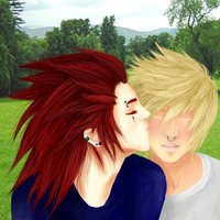 First Date - Akuroku by maraniia