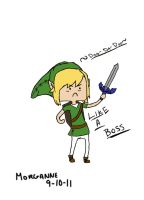 LINK A BOSS by Sarcastic-Deviantess