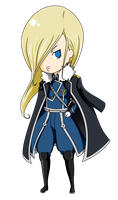 olivier mira armstrong by Hachi-Michi