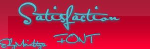 Satisfaction Font by EdyMcintyre