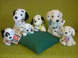 101 Dalmations plush by Frieda15
