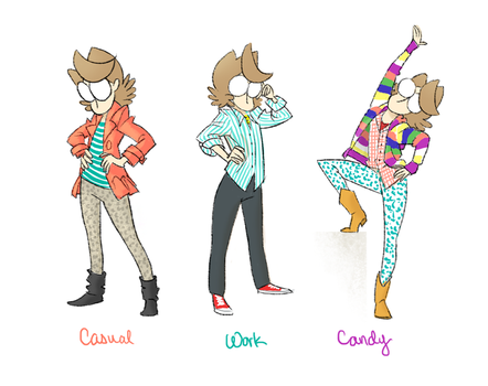 What I Wore by ghostcharmer