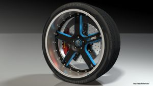 Enkei wheel R1 by RJamp