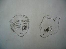 Random Doodle: Max and William by MaxCheng95