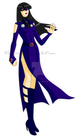 Young Justice: Raven by Tangerinna