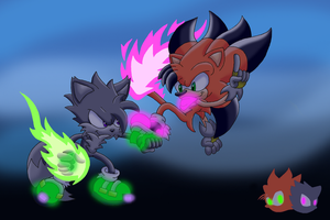 Sonic OC Battle Preview by Seltzur-The-Hedgehog