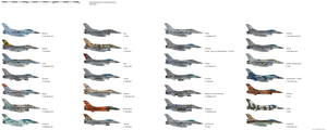 General Dynamics F-16 Fighting Falcon Operators by darthpandanl