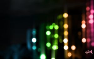 Rainbow Bokeh by eyefish