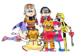 Daniel and the Sega Saturn Survivors by BlazeHeartPanther