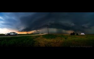 A Storm Panorama by MattGranzPhotography
