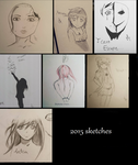 2015 sketches by UltraViolet1197
