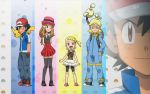 Ash and the Gang XY by 70Jack90
