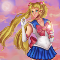 Sailor Moon by rracchan