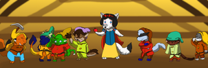 Snow White and the Seven Animals by K3RI1