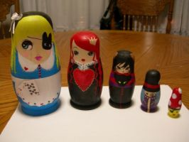 Nesting Dolls by liveloveburndie