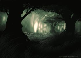 Sacred Forest by Spartan0627