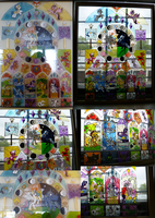 My Little Pony Stained Glass by Thebubbleqat