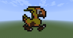 Chocobo in Minecraft by Nightwing03